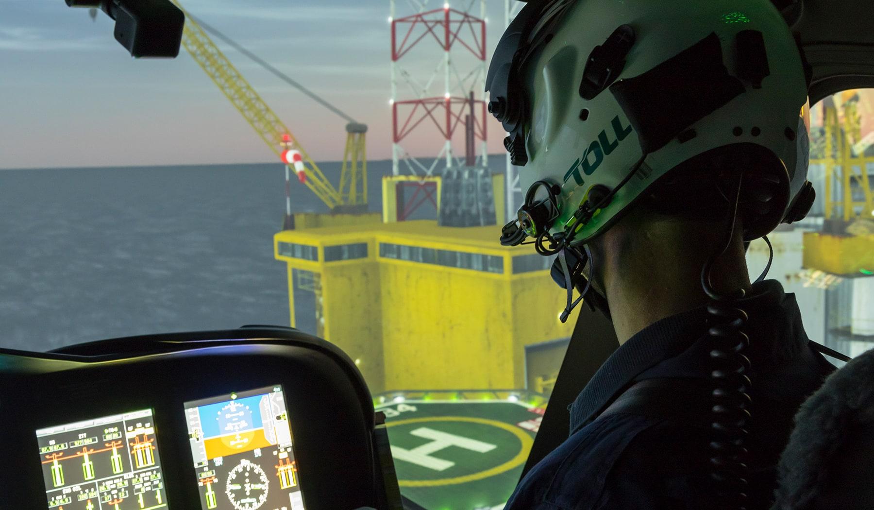 AW139 simulator