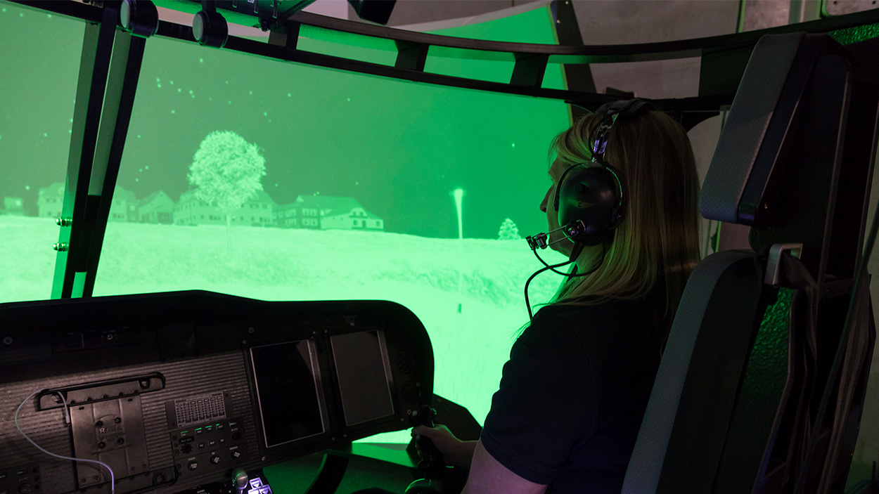 Complete Aircrew Training simulator virtual reality experience