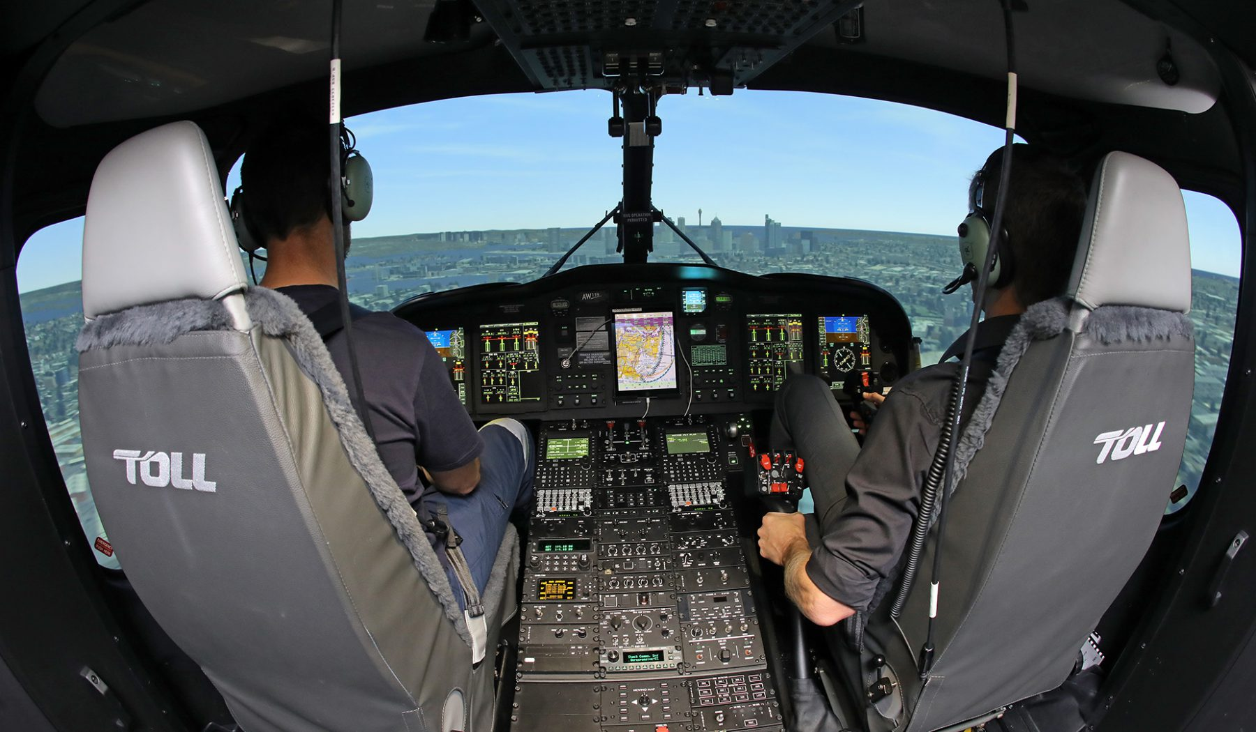 AW139 Flight Simulator